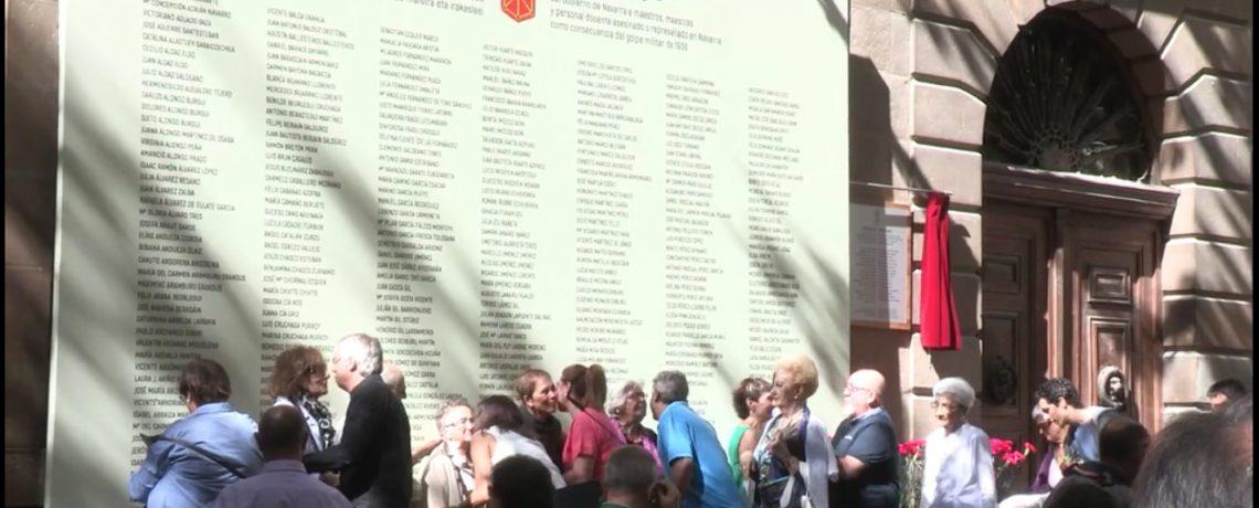 Homenaje a maestros y maestras represaliados