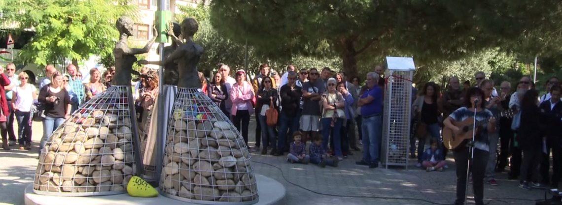 Peralta: Escultura a las mujeres represaliadas