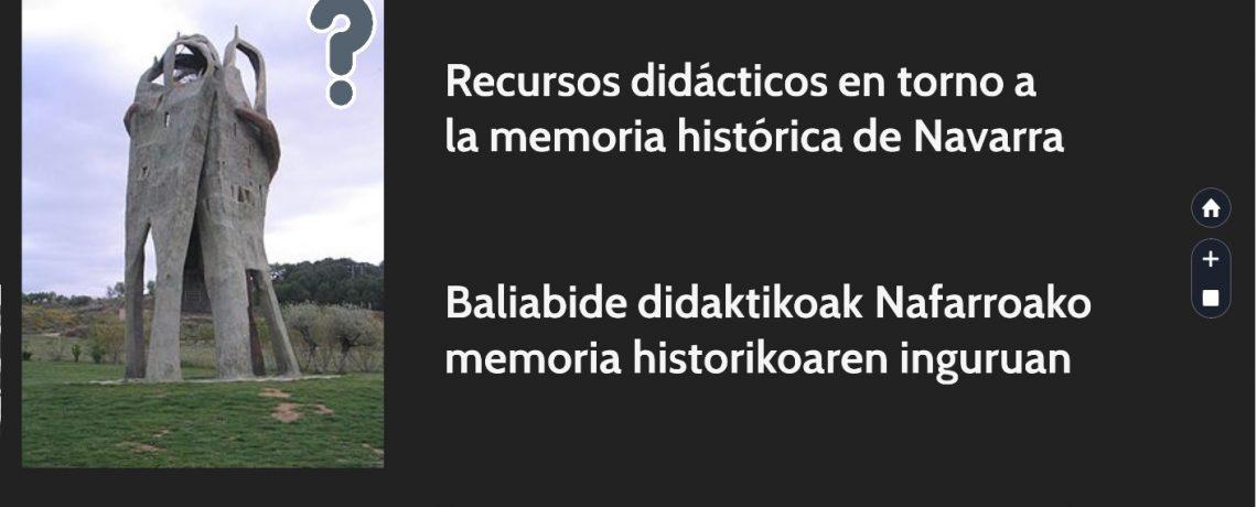 Emilio Majuelo y César Layana: El mapa de la represión en Navarra. Recursos didácticos