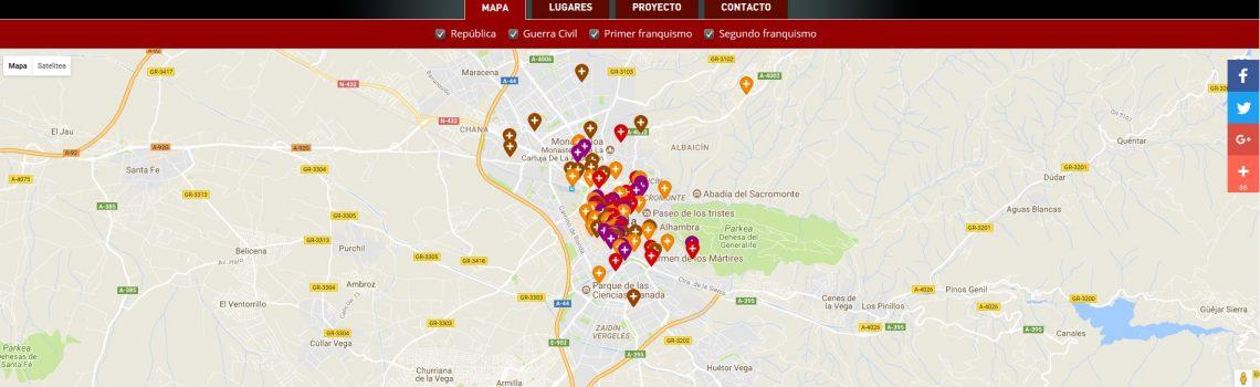 Miguel Ángel del Arco Blanco – Mapa de la memoria de Granada