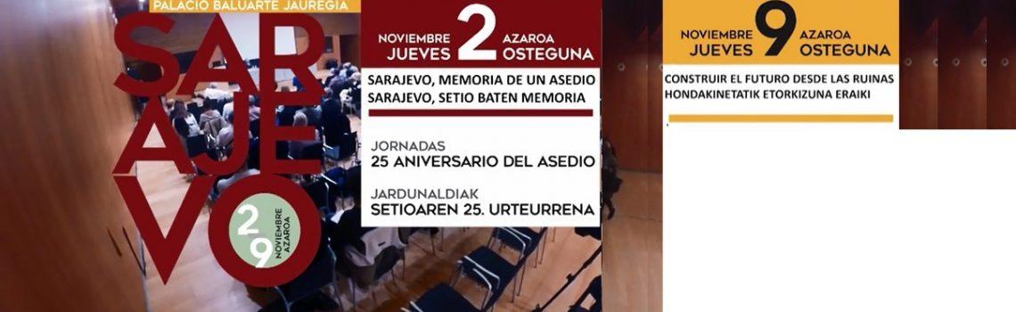 Jornadas sobre el asedio de Sarajevo (noviembre de 2017)