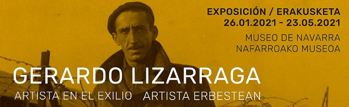 Gerardo Lizarraga, artista erbestean.